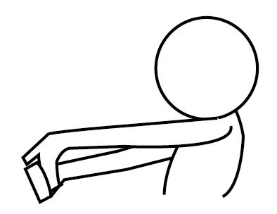 腕の張りの解消ストレッチ